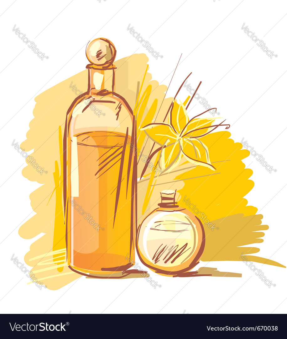 Essential oil vector | Price: 3 Credit (USD $3)