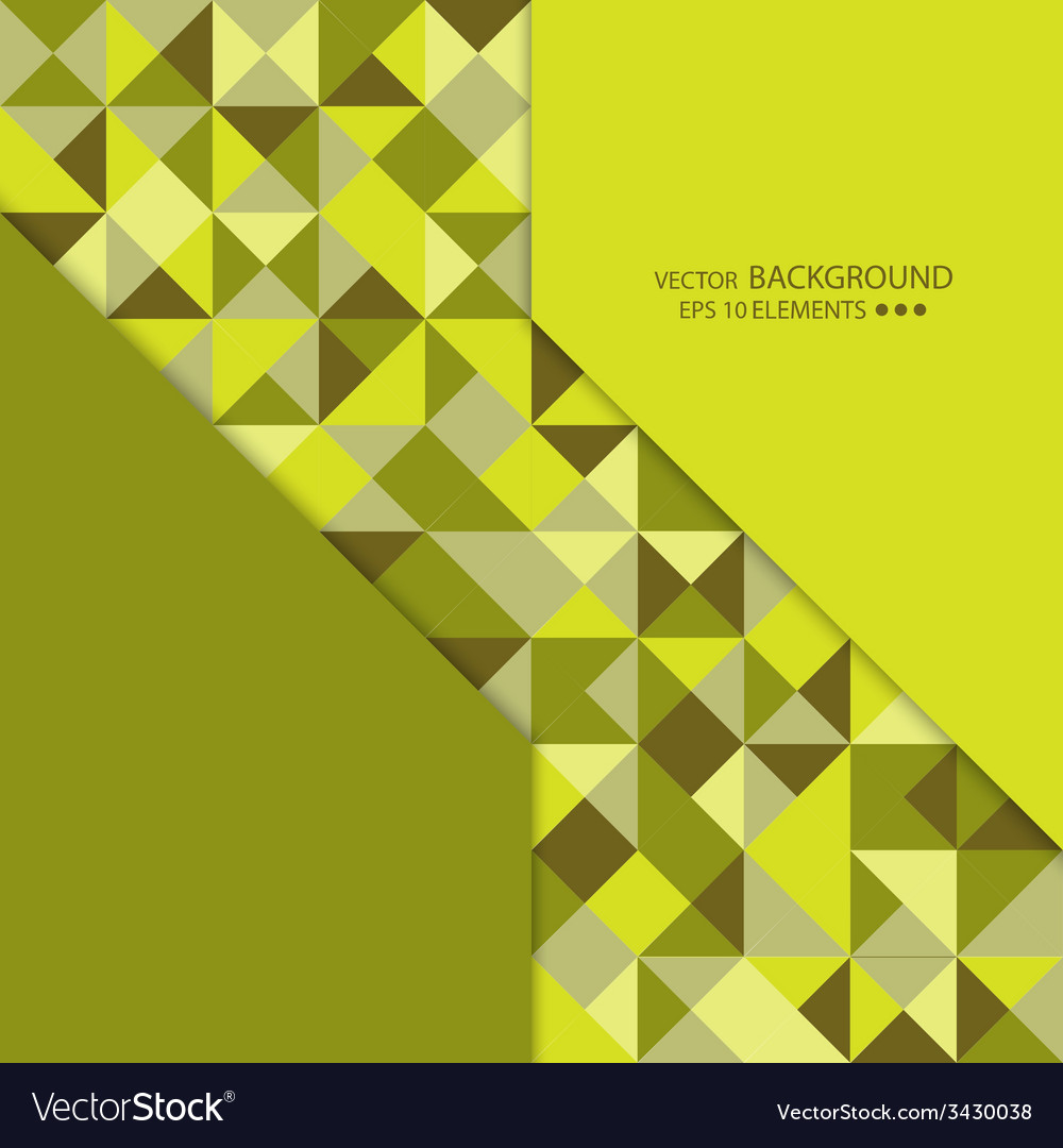 Mosaic of random shapes vector | Price: 1 Credit (USD $1)