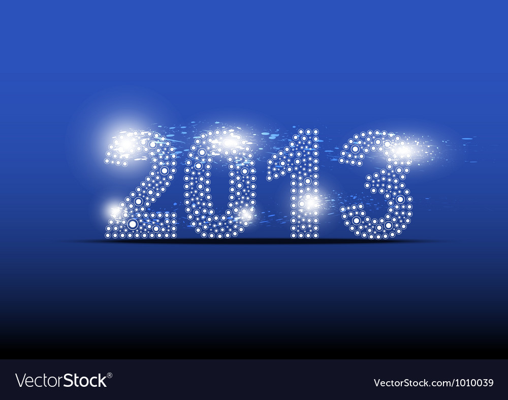 2013 new year banner design vector | Price: 1 Credit (USD $1)