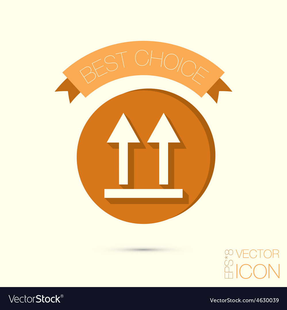 Arrow up vector | Price: 1 Credit (USD $1)