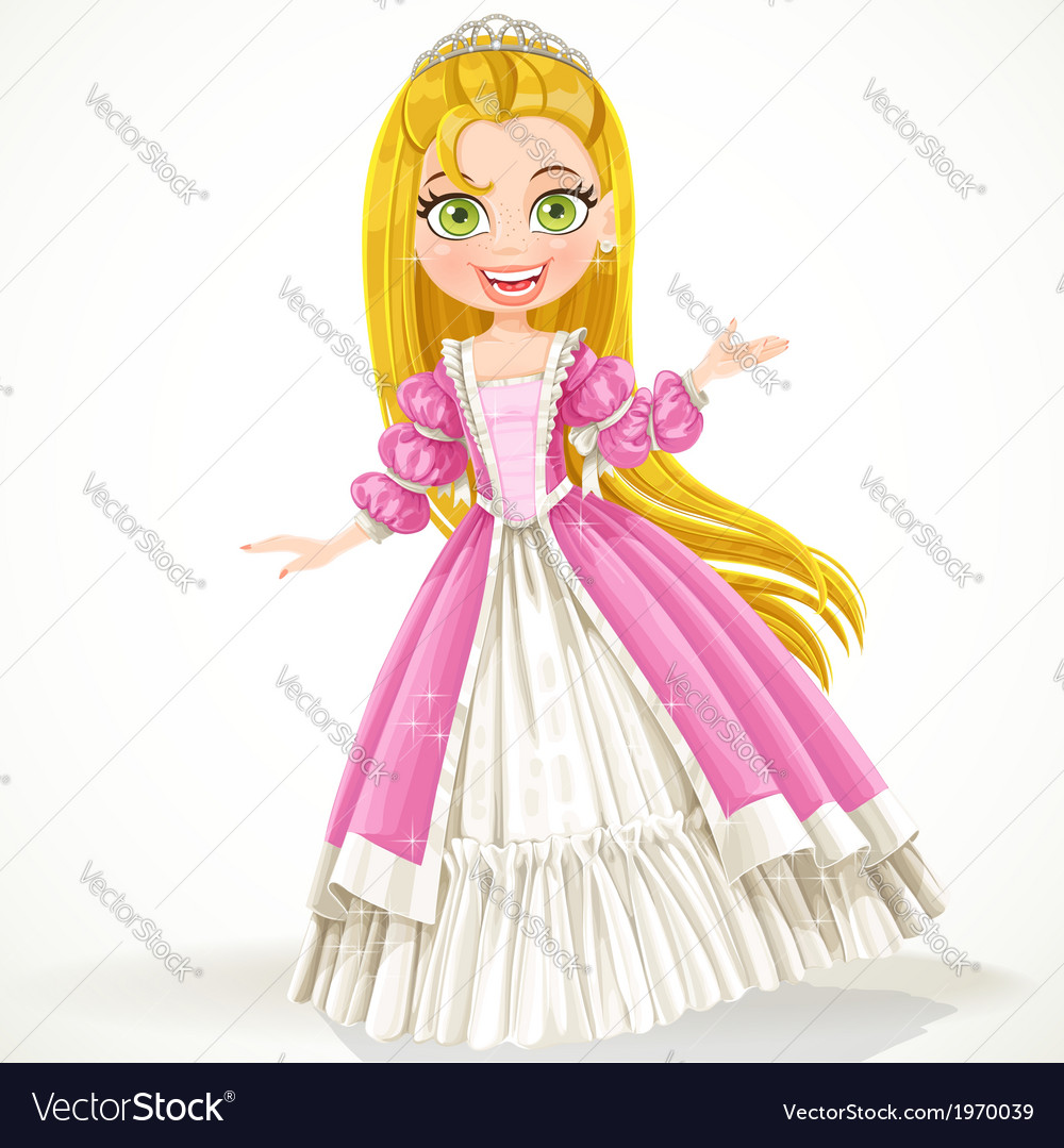 Cute princess vector | Price: 3 Credit (USD $3)