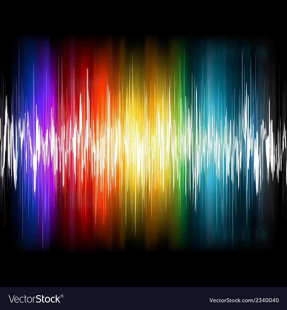 Equalizer abstract sound waves eps 8 vector | Price: 1 Credit (USD $1)