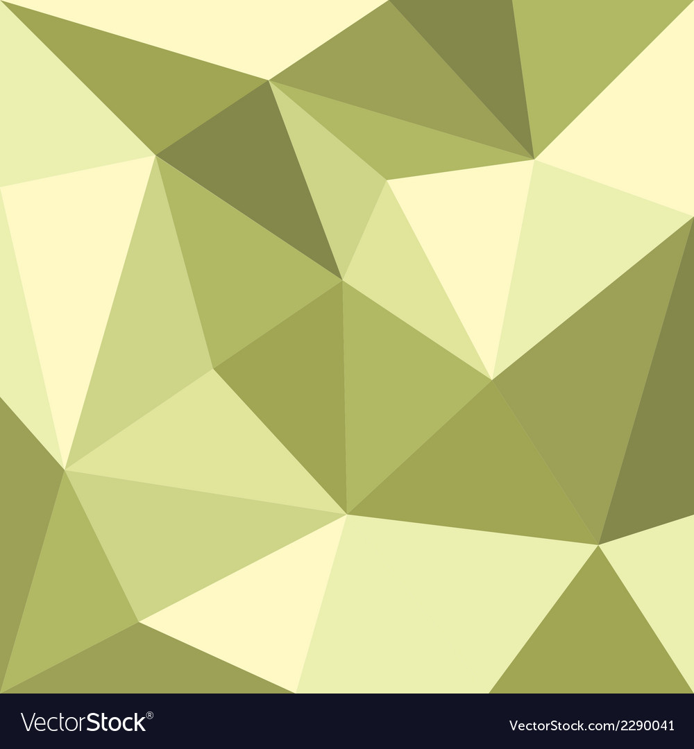 Green triangle flat mosaic background or pattern vector | Price: 1 Credit (USD $1)