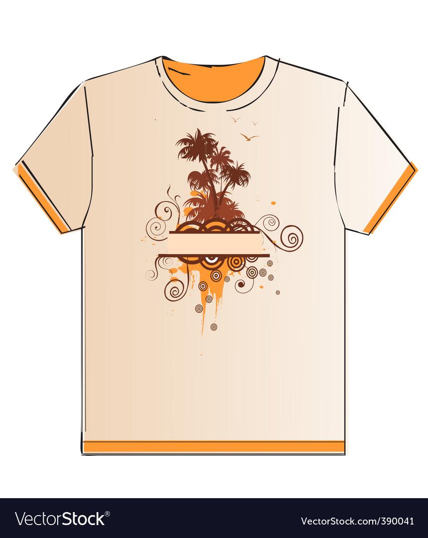 T-shirt vector | Price: 1 Credit (USD $1)