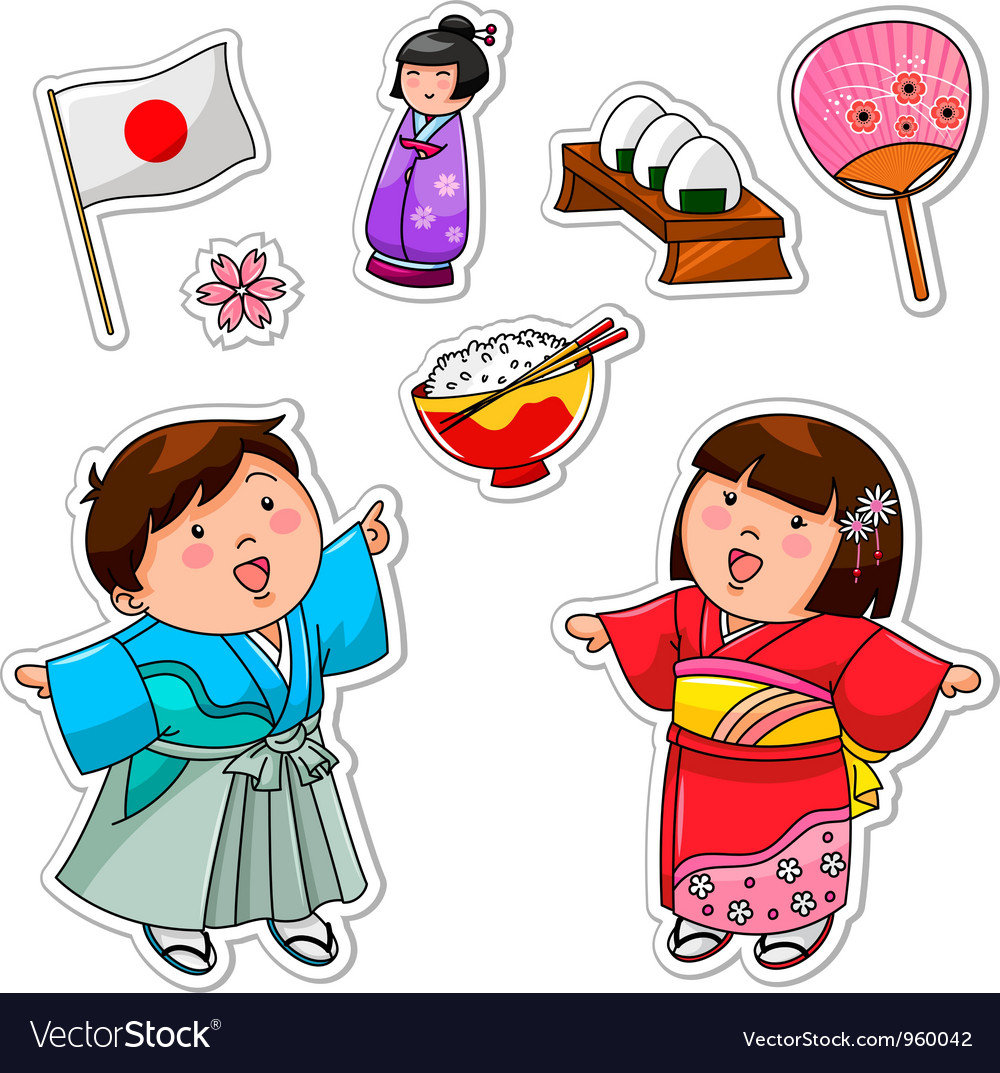 Japanese collection vector | Price: 3 Credit (USD $3)