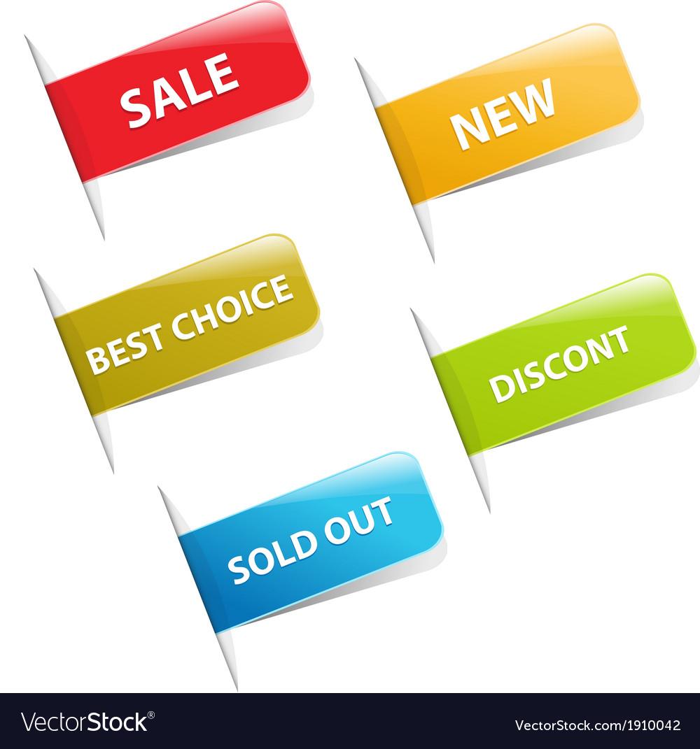 Sale stickers vector   Price: 1 Credit (USD $1)