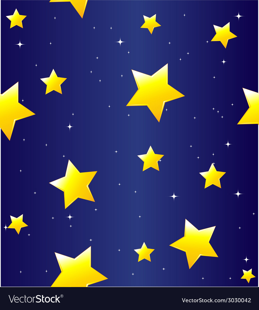 Seamless pattern with stars vector | Price: 1 Credit (USD $1)