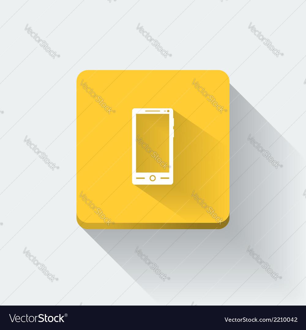 Smartphone icon vector | Price: 1 Credit (USD $1)