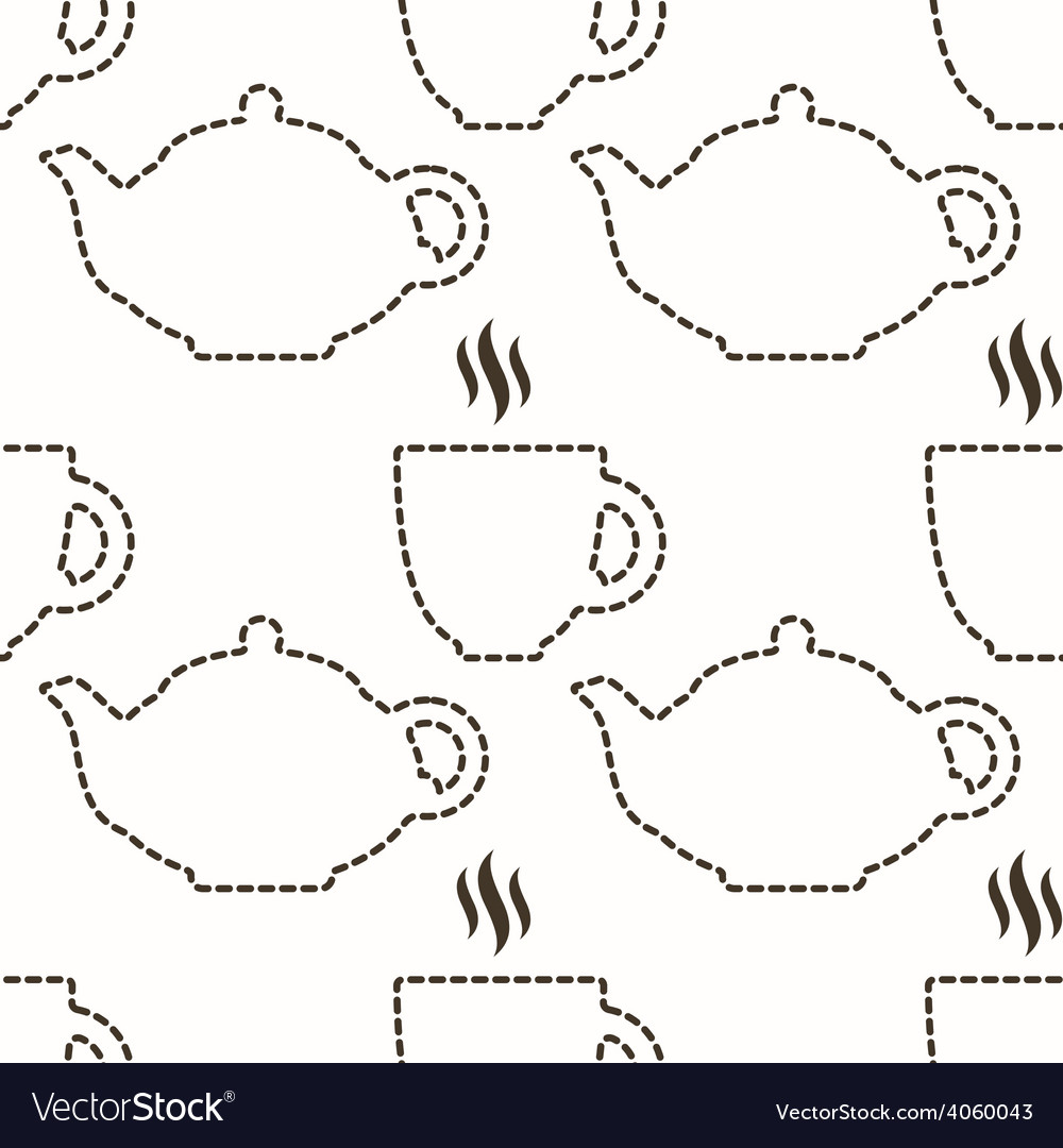 Abstract kitchen seamless pattern vector | Price: 1 Credit (USD $1)