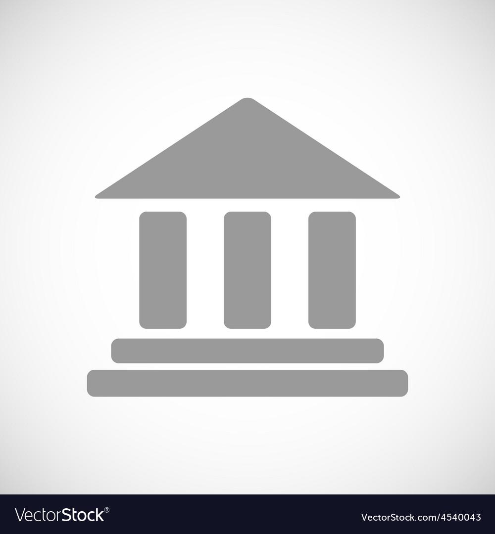 Bank black icon vector   Price: 1 Credit (USD $1)