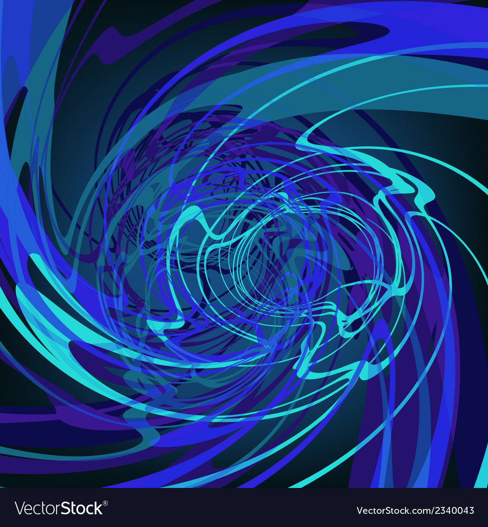 Blue abstract stylish fantasy background eps8 vector | Price: 1 Credit (USD $1)