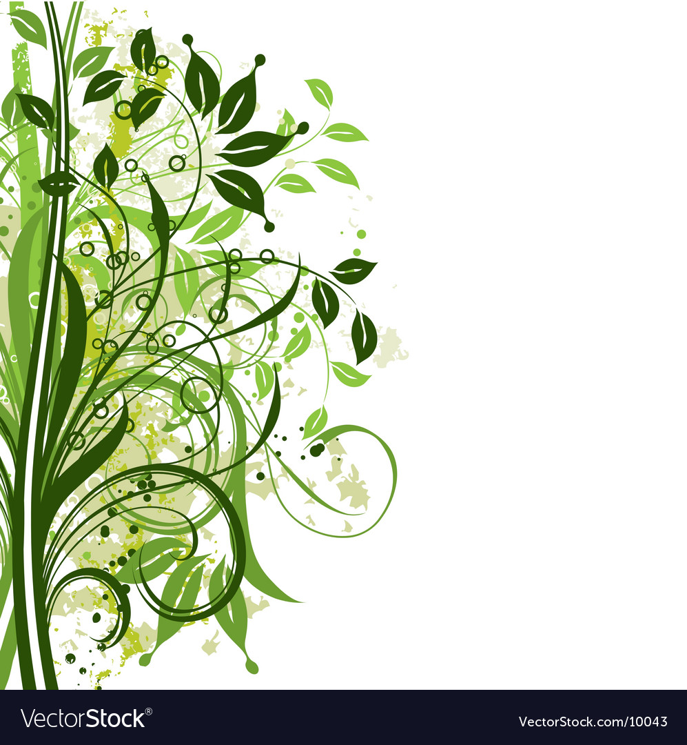 Plant design vector | Price: 1 Credit (USD $1)
