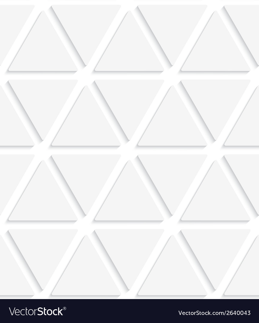 White triangular simple seamless vector | Price: 1 Credit (USD $1)