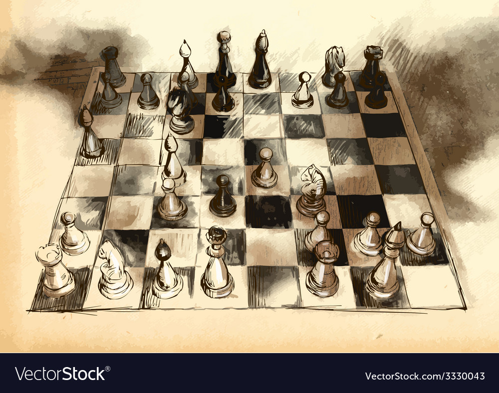 The worlds great chess games anderssen - dufresne vector | Price: 3 Credit (USD $3)