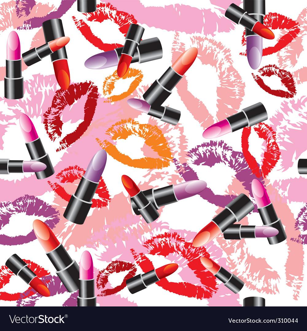 Lipstick background vector | Price: 3 Credit (USD $3)