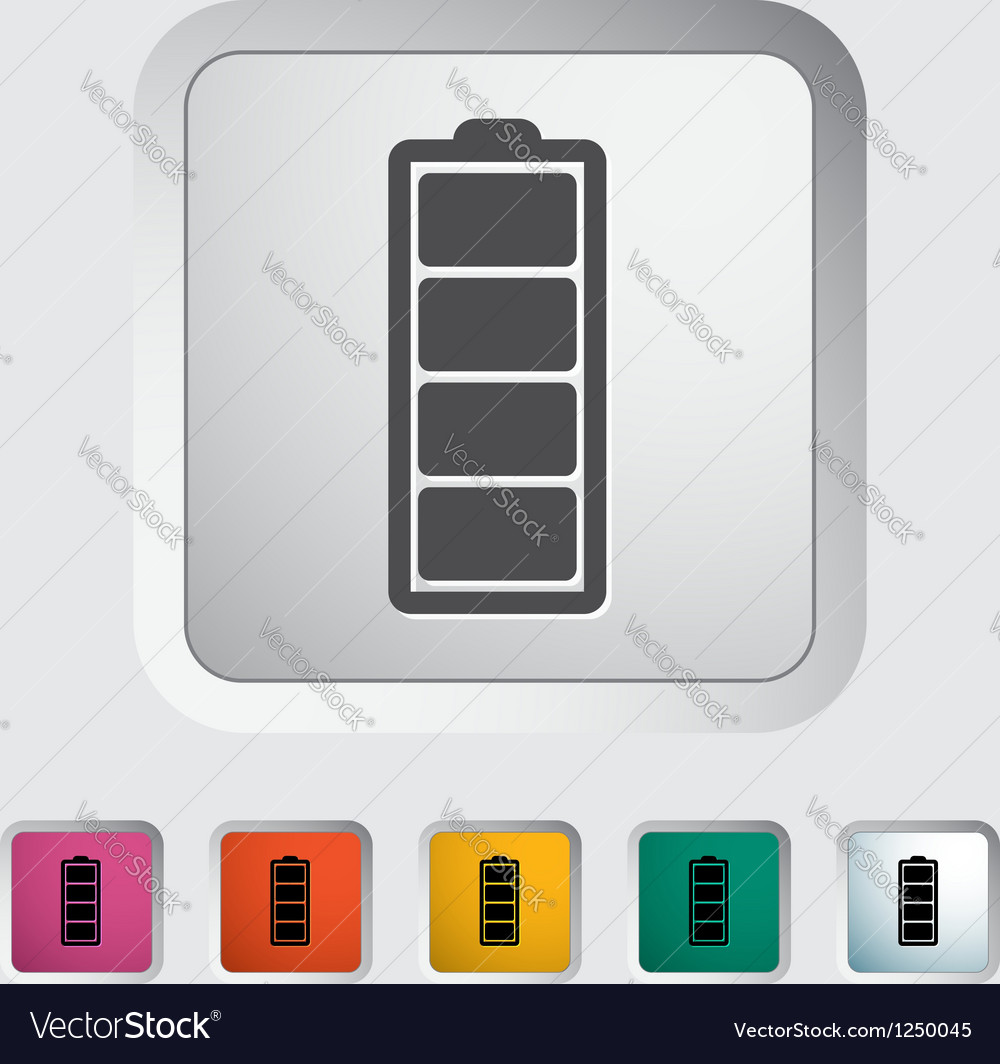 Full battery vector | Price: 1 Credit (USD $1)
