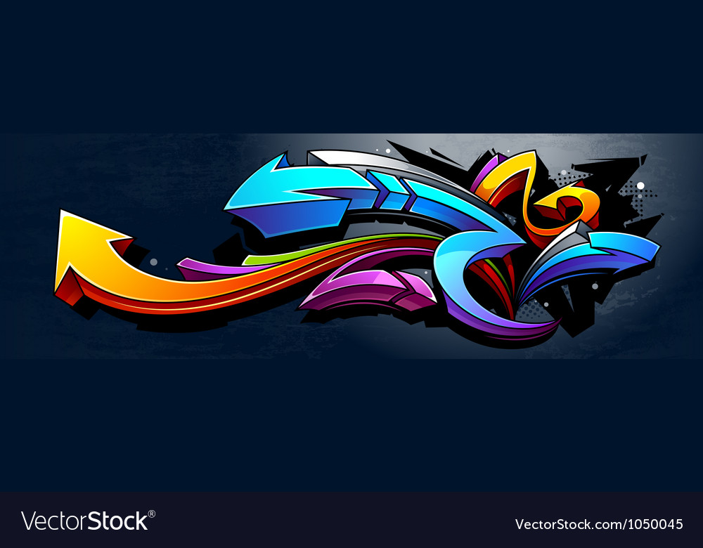 Graffiti background vector | Price: 1 Credit (USD $1)
