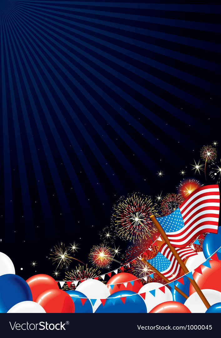 Independence day design background vector | Price: 1 Credit (USD $1)