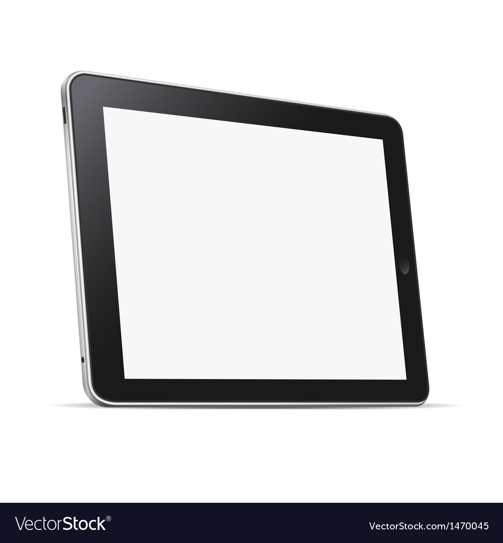 Tablet computer pc vector | Price: 1 Credit (USD $1)