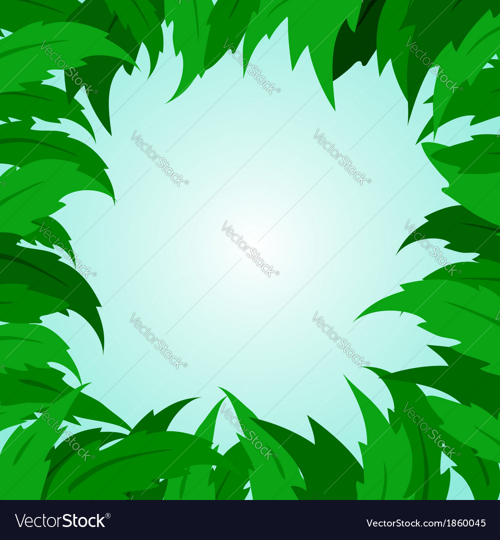Tropical leaf leaves tree green vector   Price: 1 Credit (USD $1)