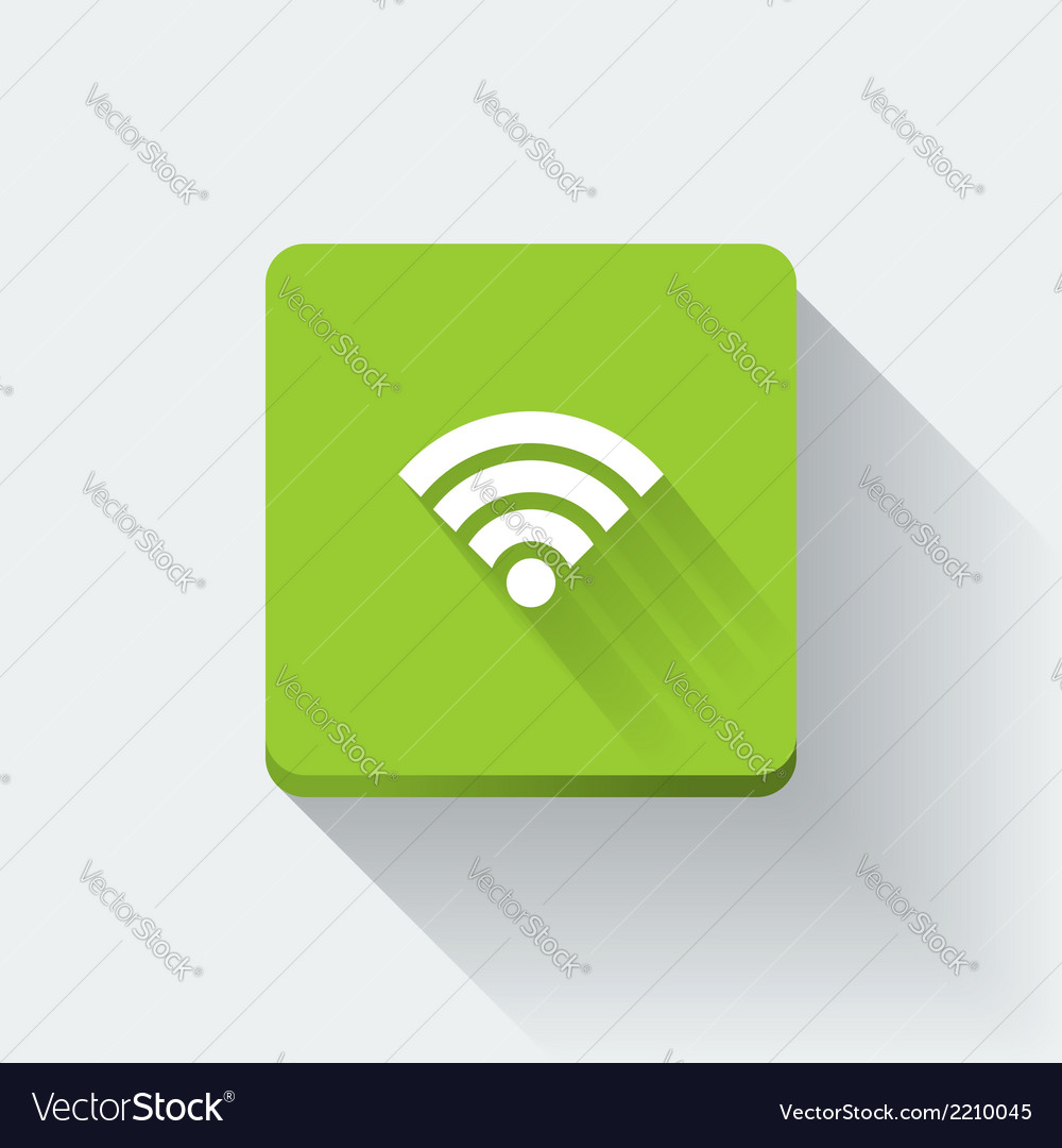 Wi-fi icon vector | Price: 1 Credit (USD $1)