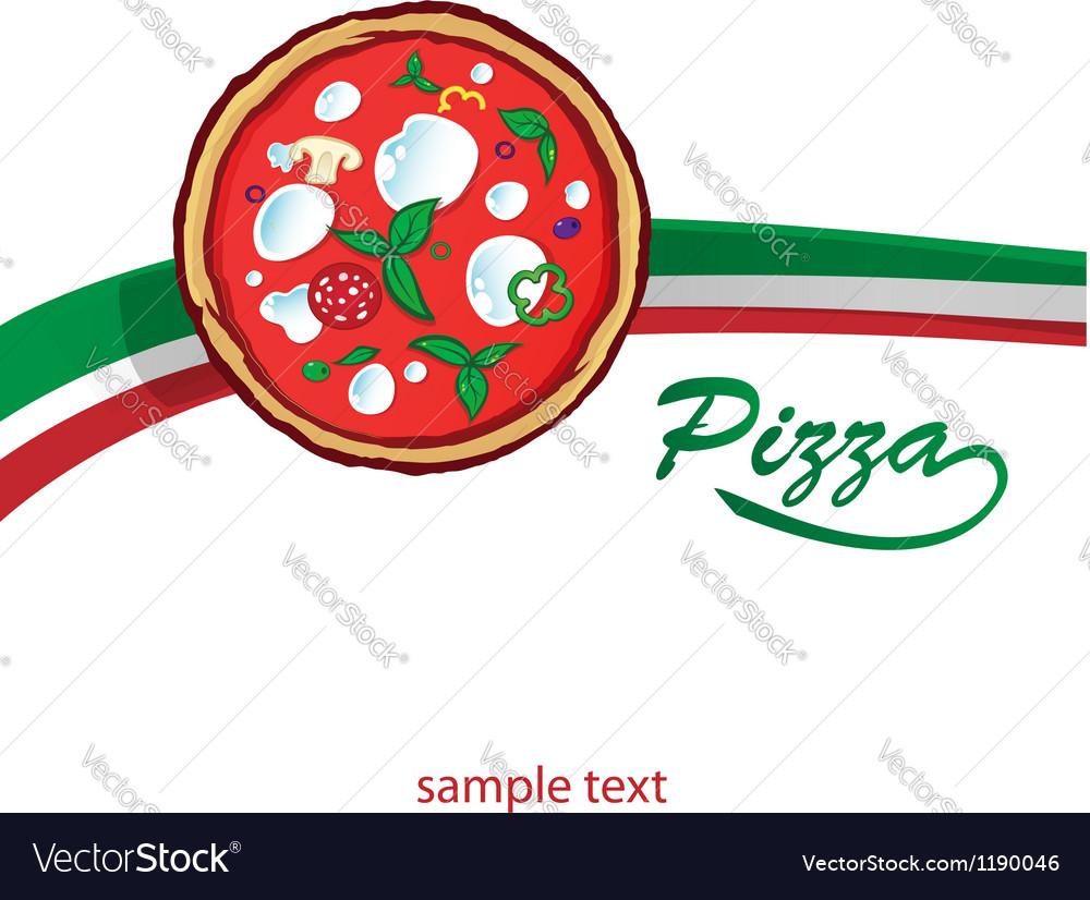Pizza background vector | Price: 1 Credit (USD $1)