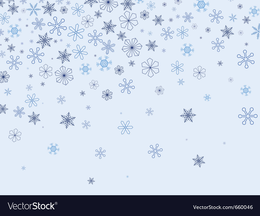 Snowflakes background vector   Price: 1 Credit (USD $1)