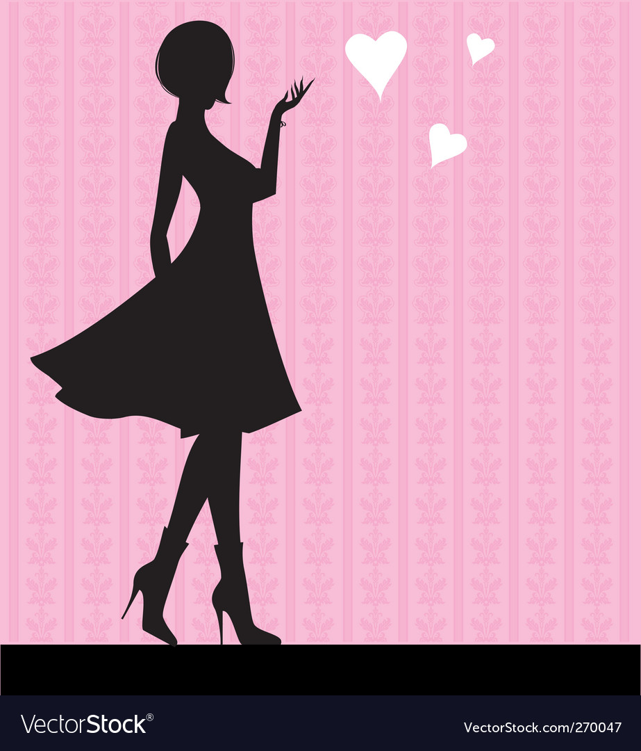 Girl love vector | Price: 1 Credit (USD $1)