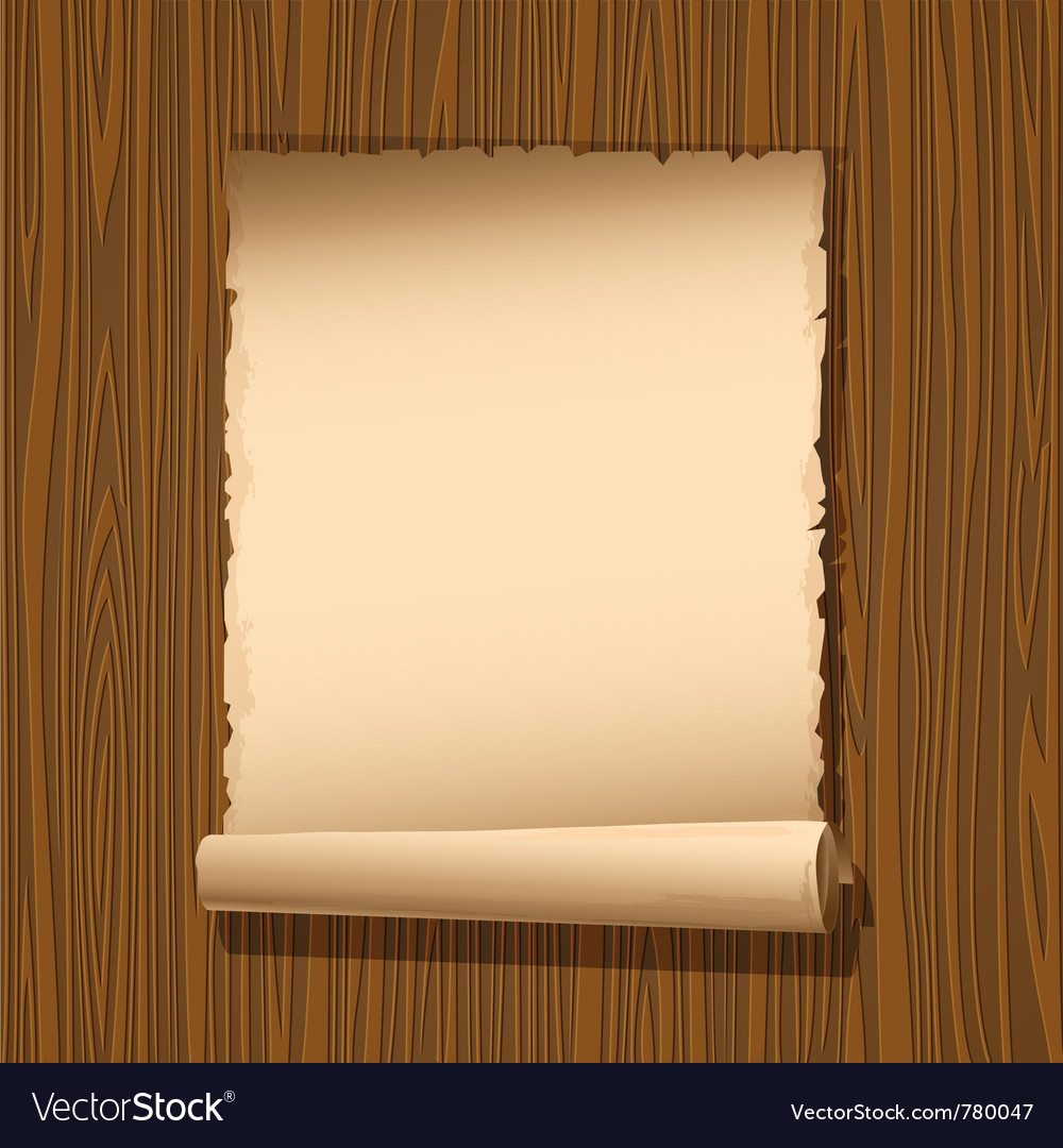 Old paper wooden vector | Price: 1 Credit (USD $1)