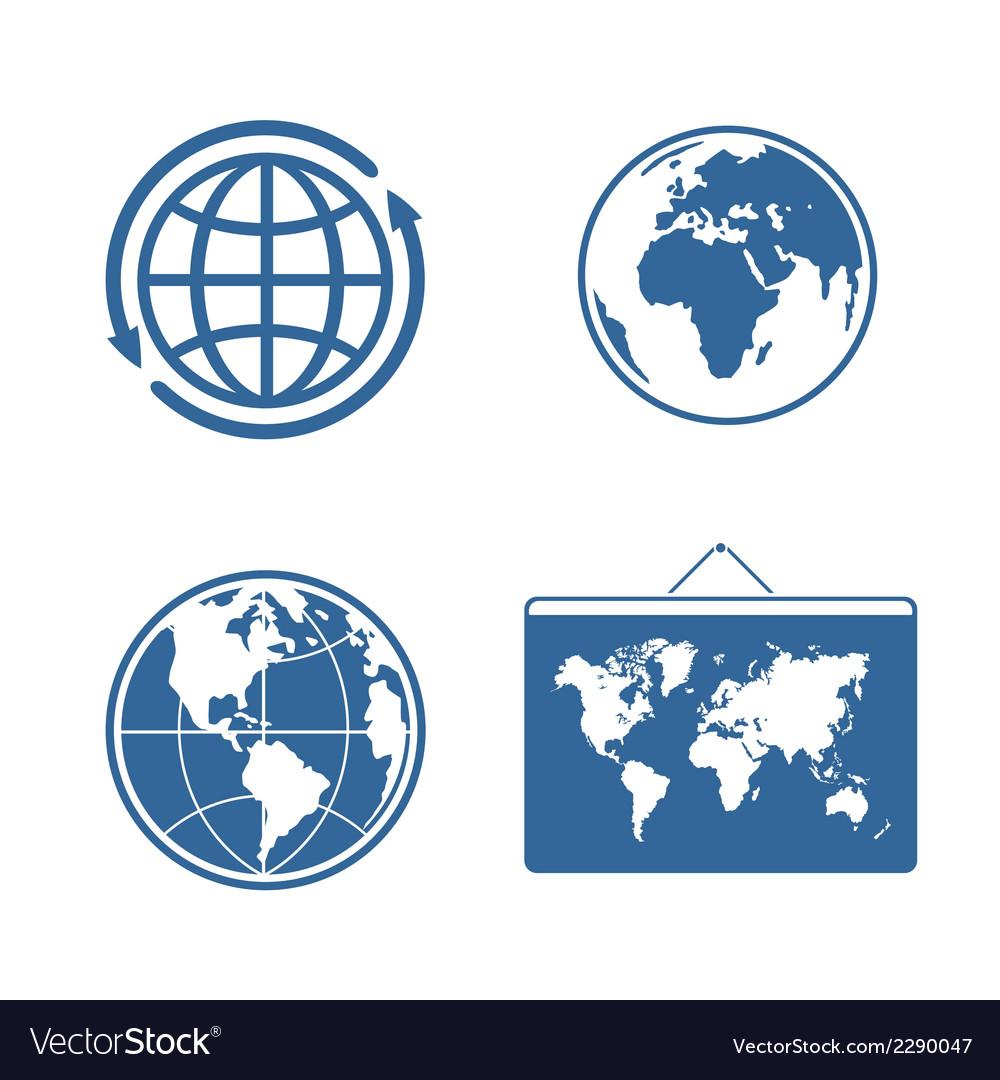 Set of symbols planet vector | Price: 1 Credit (USD $1)