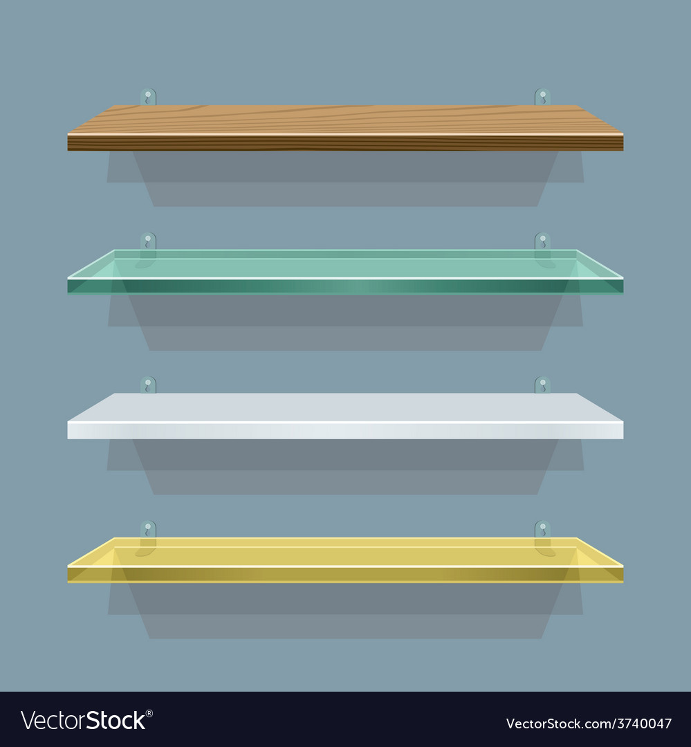 Shelves vector   Price: 1 Credit (USD $1)