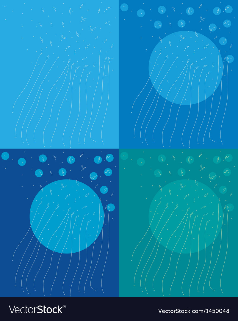 Blue summer vector | Price: 1 Credit (USD $1)