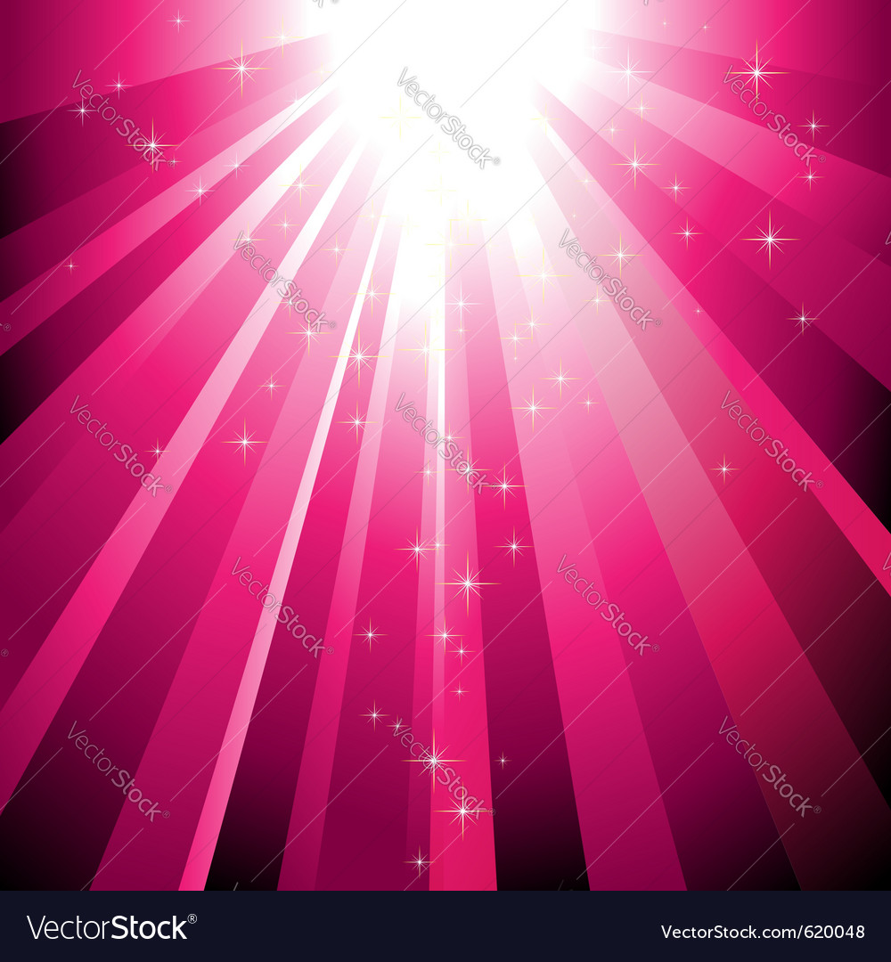 Sparkling stars vector | Price: 1 Credit (USD $1)