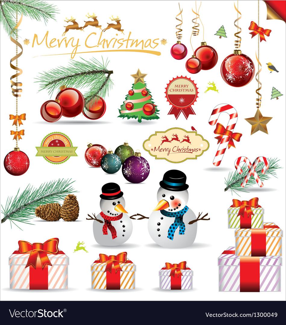 Christmas design element vector   Price: 3 Credit (USD $3)