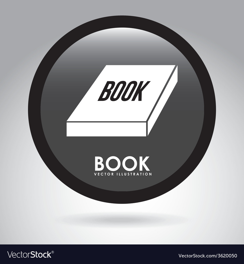 Book button vector | Price: 1 Credit (USD $1)