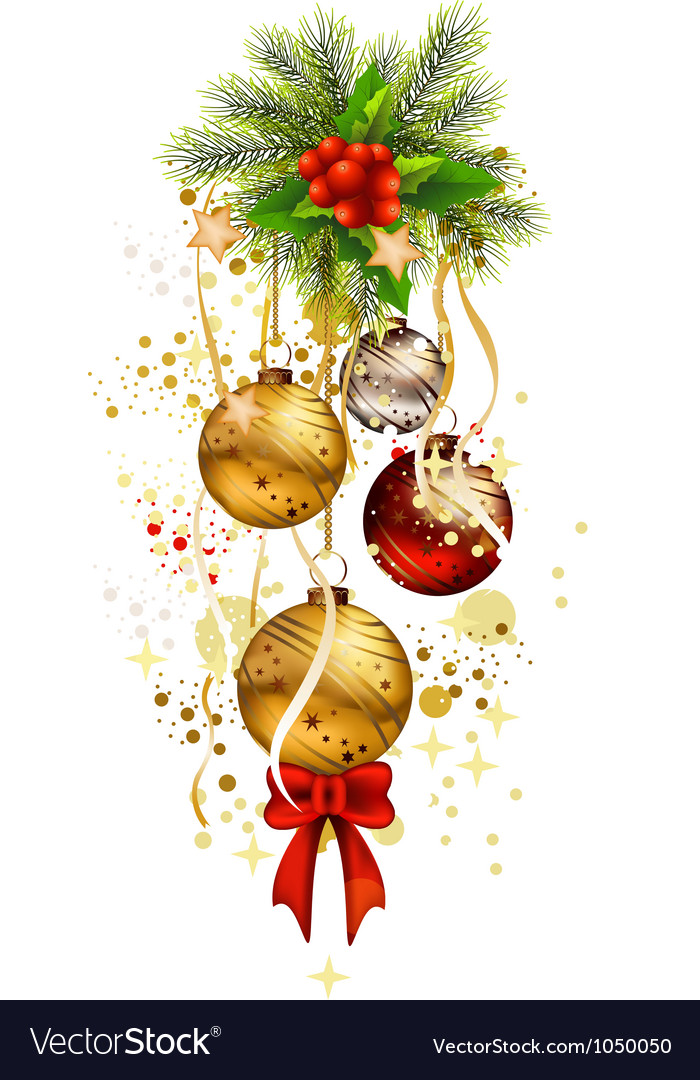 Icon christmas background vector | Price: 1 Credit (USD $1)