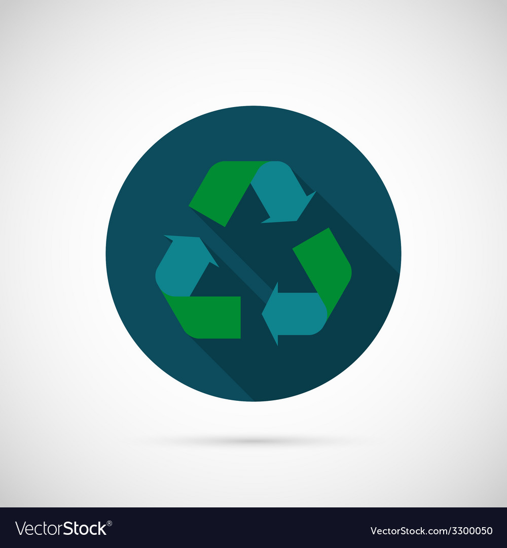 Recycle icon vector | Price: 1 Credit (USD $1)