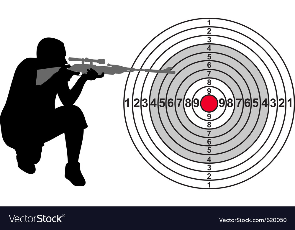 Target for shooting range vector | Price: 1 Credit (USD $1)