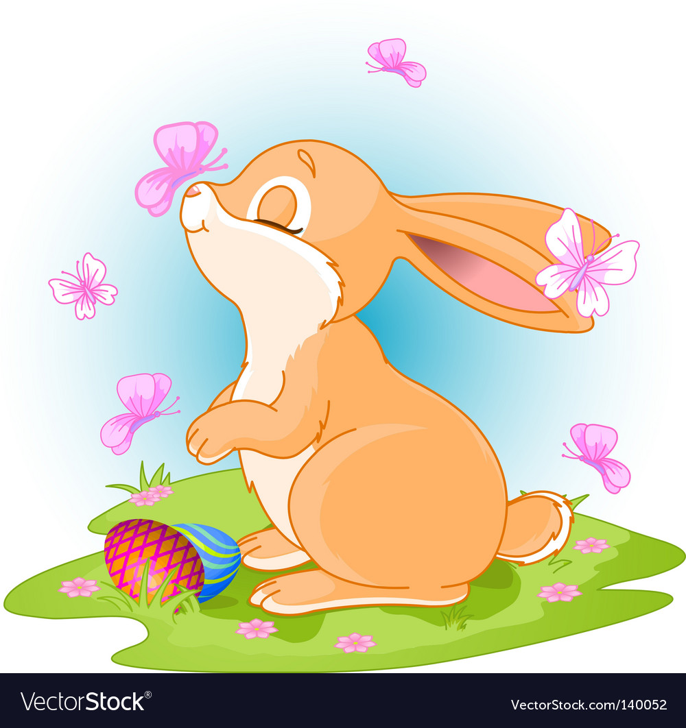 Easter bunny vector   Price: 3 Credit (USD $3)