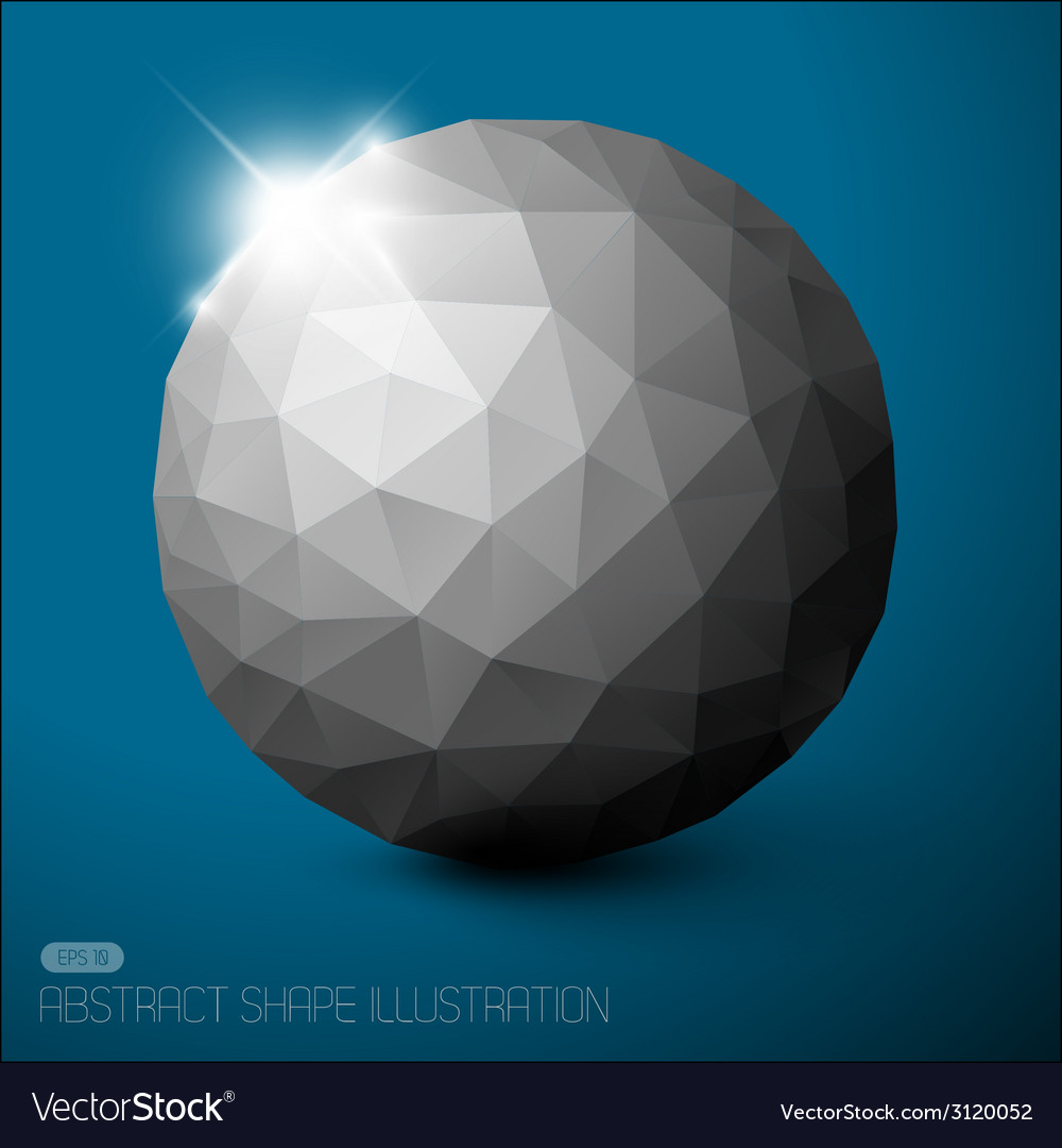 Geometric baubles vector | Price: 1 Credit (USD $1)