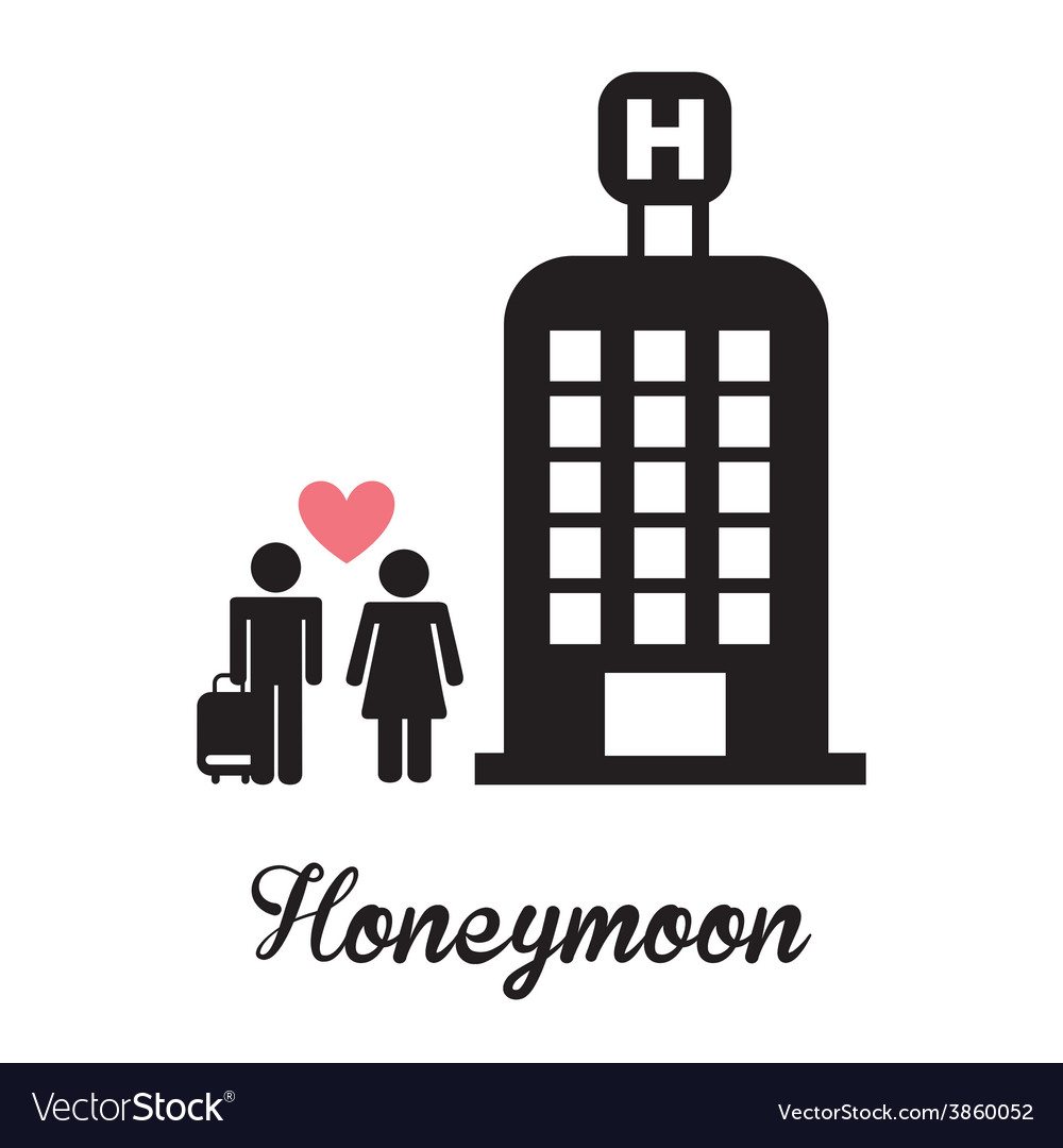 Honeymoon vector | Price: 1 Credit (USD $1)