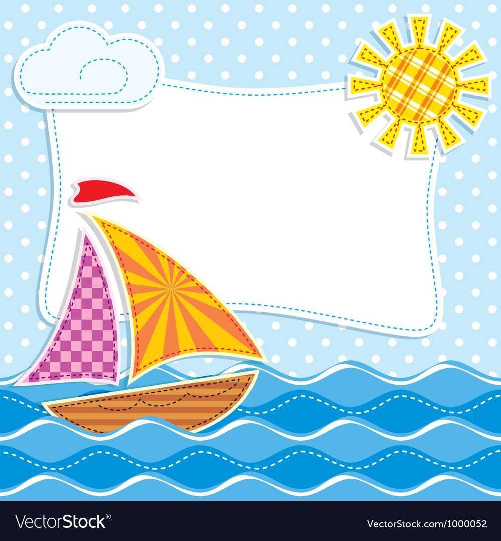 Sea textiles vector | Price: 1 Credit (USD $1)