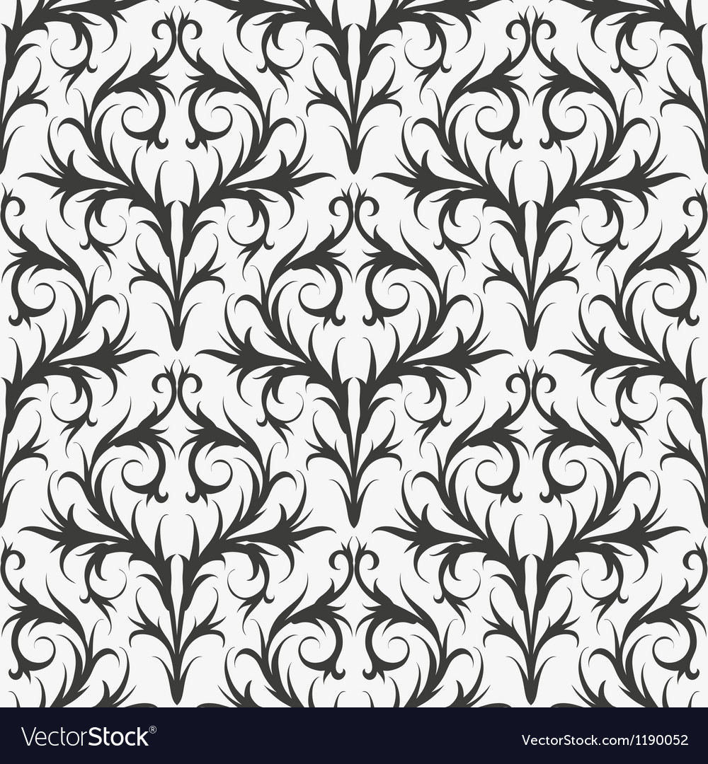 Seamless pattern wallpaper vector | Price: 1 Credit (USD $1)