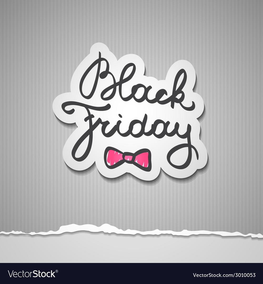 Black friday vector | Price: 1 Credit (USD $1)