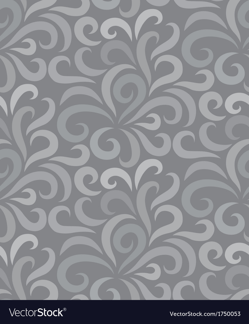 Swirl shape pattern seamless two tone vector | Price: 1 Credit (USD $1)