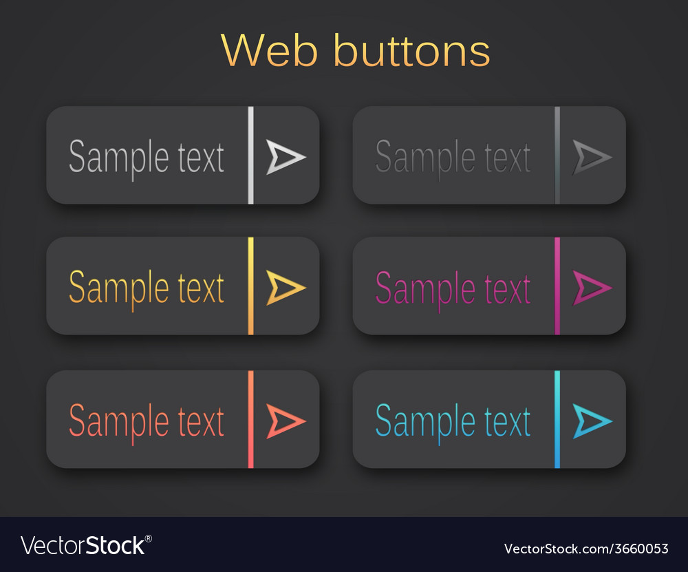 Web buttons 380 vector | Price: 1 Credit (USD $1)