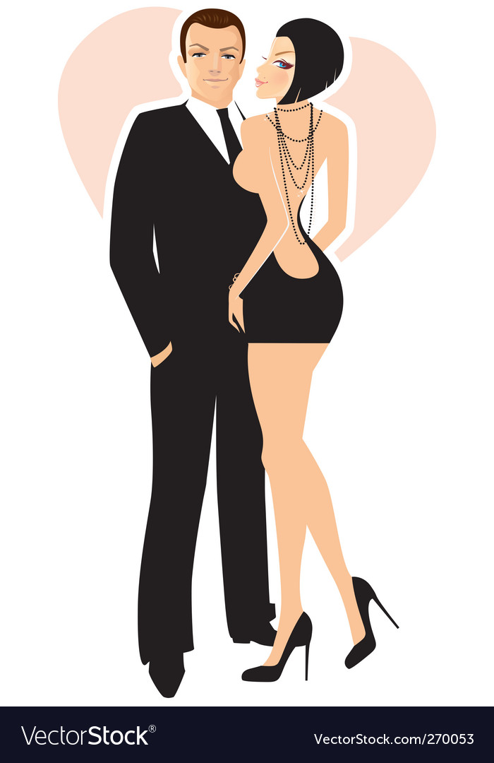 Women man vector | Price: 5 Credit (USD $5)