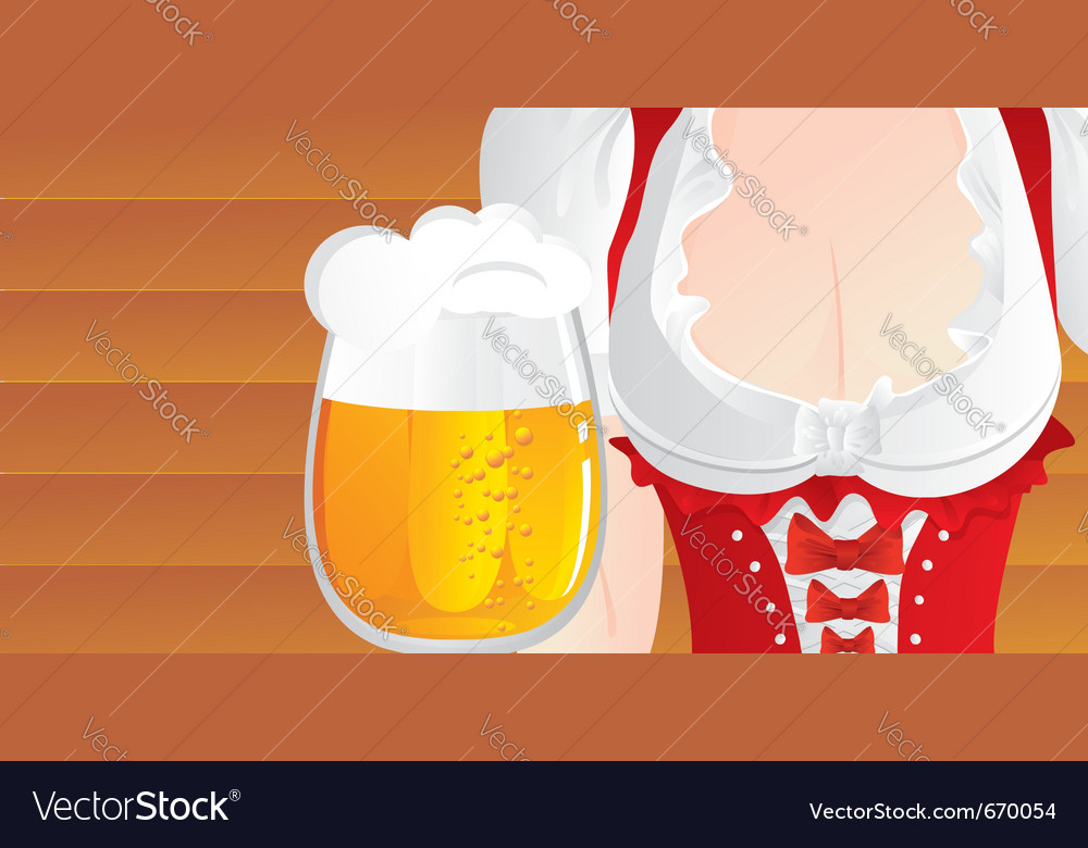 Big beer mug vector | Price: 3 Credit (USD $3)