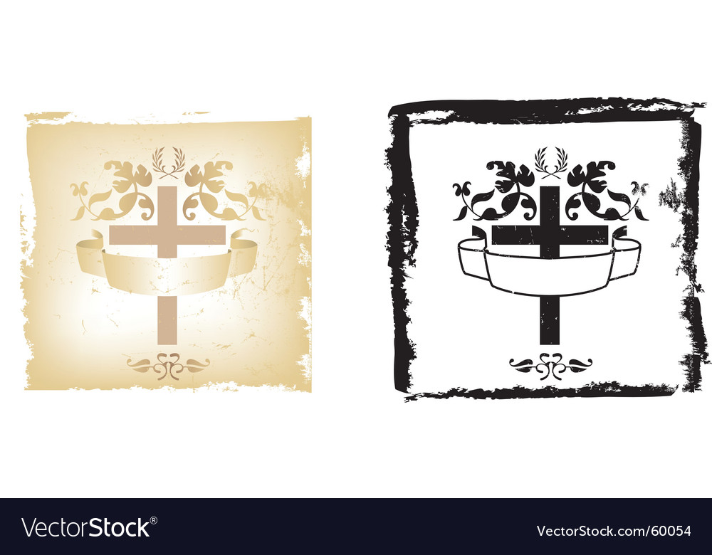 Easter grunge vector | Price: 1 Credit (USD $1)