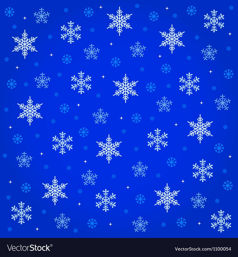 Midnight snowfall vector | Price: 1 Credit (USD $1)